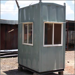Sunbeam Portable Cabins Pvc Frp Cabins Security Cabins